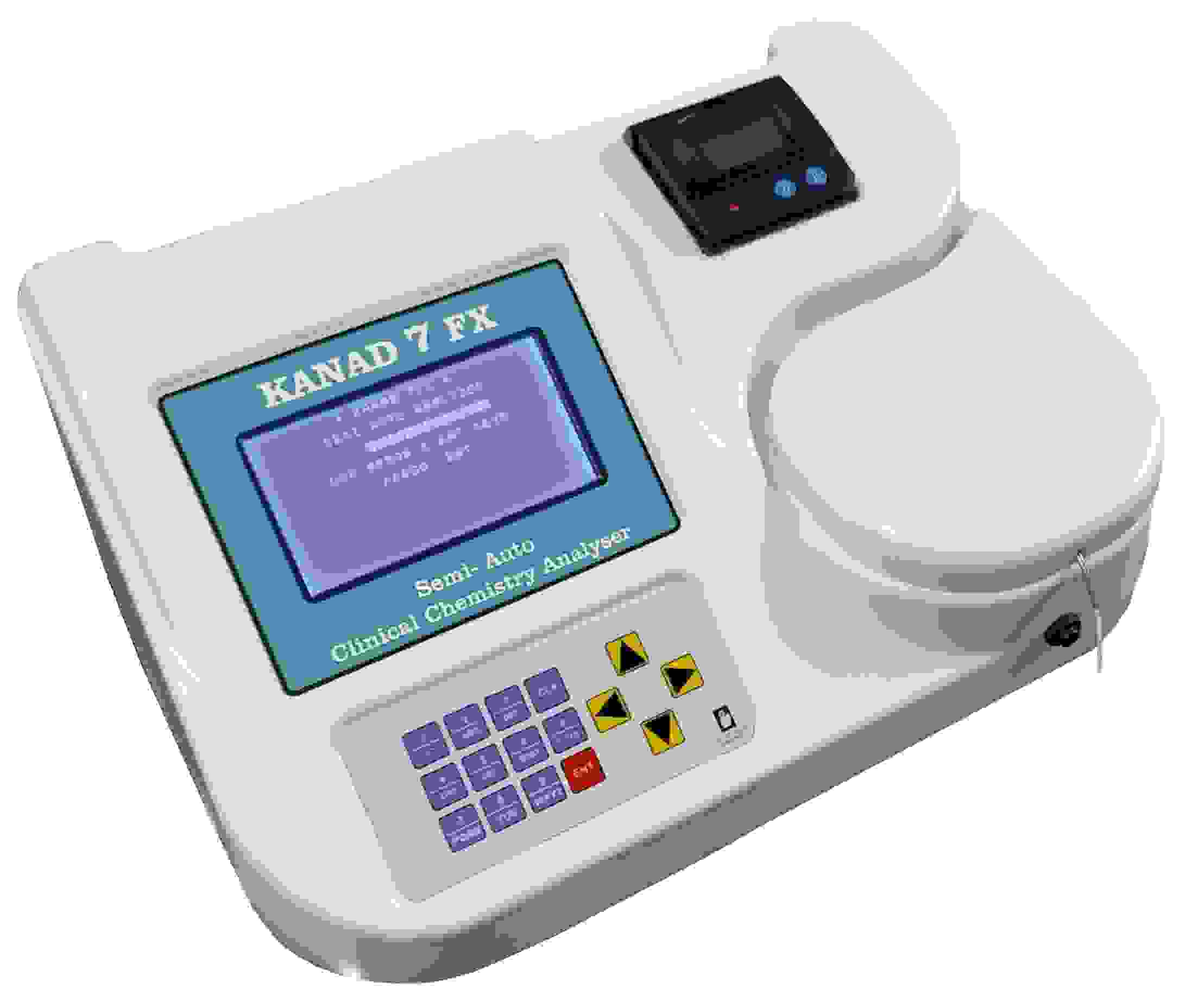 Kanad 7FX Semi Auto analyser Clinical Biochemistry  Clinical Analyzer Biochemistry Analyzer
