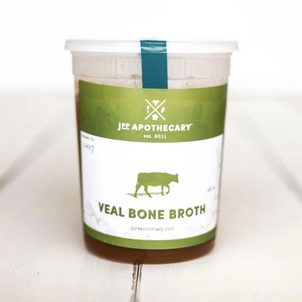 4 Quarts Seasonal Broth-Veal