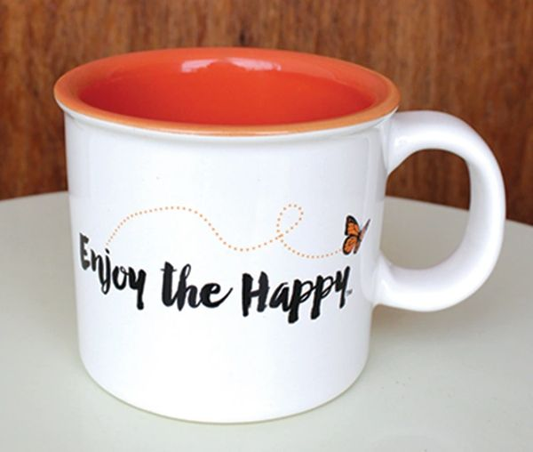 Enjoy the Happy Mug