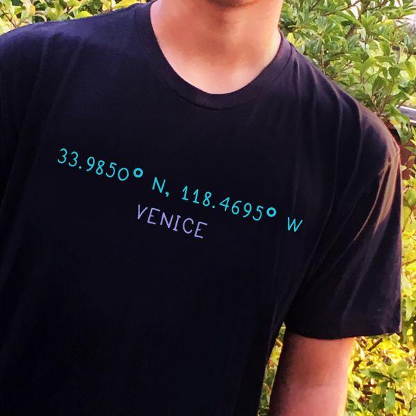 Venice Coordinates Men's tee