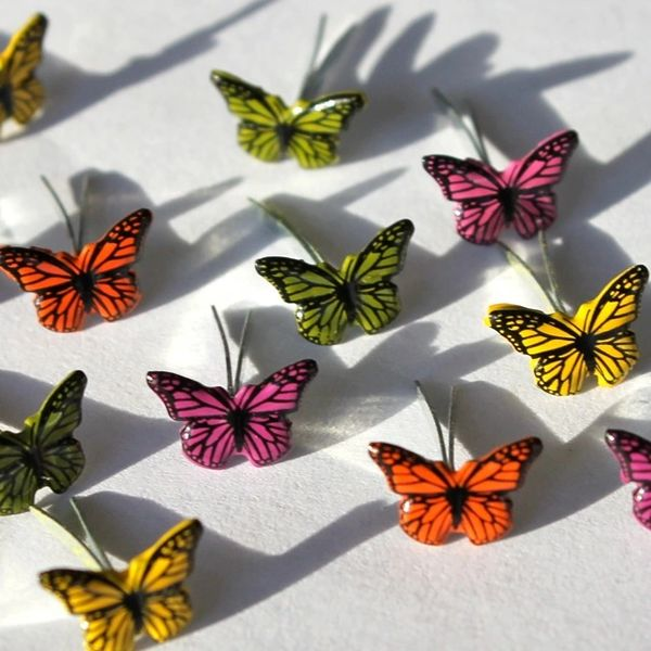 Mini Butterfly brads by Eyelet Outlet