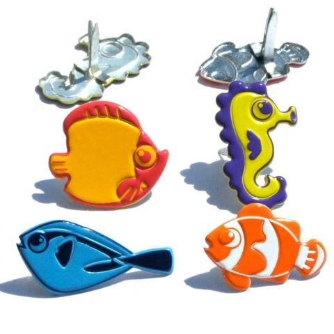 Funky Fish (tropical fish) by Eyelet Outlet
