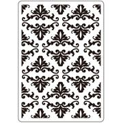 "Fleur Di Lis Damask Embossing Folder (4.25""x5.75"") by Darice"