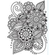 "Henna Embossing Folder (4.25""x5.75"") by Darice"