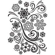 "Snowflake Swirl Embossing Folder (4.25""x5.75"") by Darice"