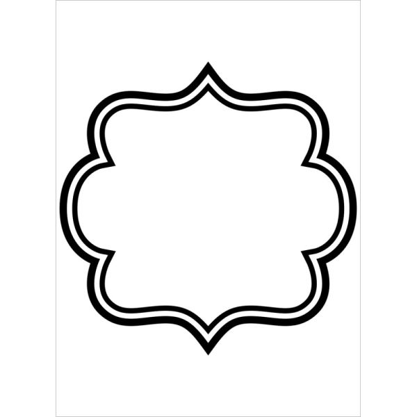 "Square Border Embossing Folder (4.25""x5.75"") by Darice"