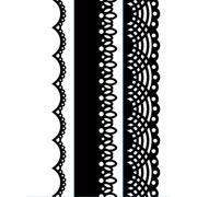 "Lace Trio (4.25""x5.75"") embossing folder by Darice"