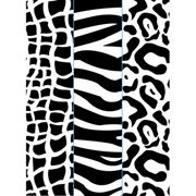 "Animal Print Trio (4.25""x5.75"") embossing folder by Darice"