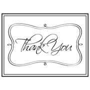 "Thank You Embossing Folder (4.25""x5.75"") by Darice"