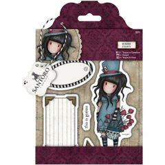 "The Hatter Gorjuss Urban Stamps 127x165mm (5""X6.5"")"