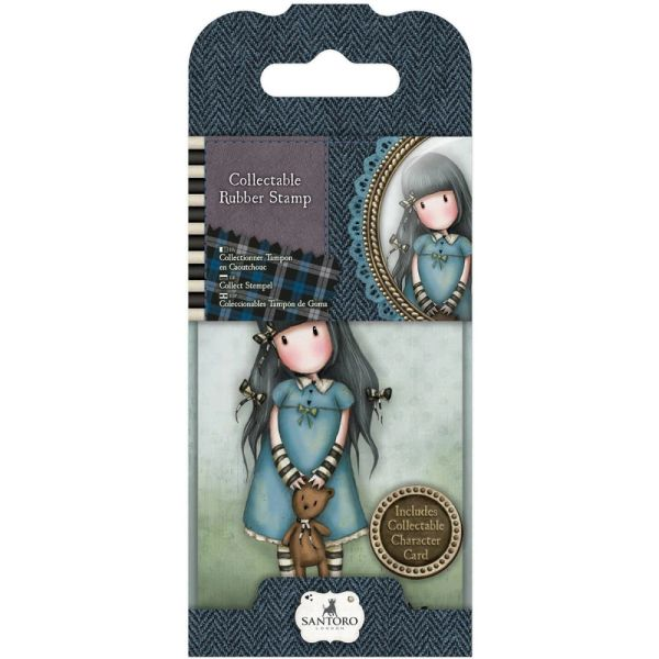 No. 4, Forget Me Not Gorjuss Mini Stamp by Santoro