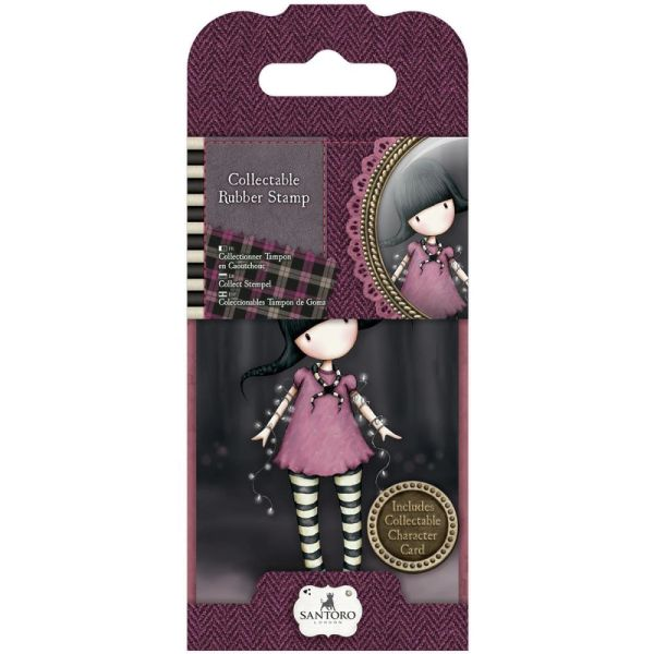 No. 13, Fairy Lights Gorjuss Mini Stamp by Santoro