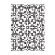Geometric Octagon Pattern - 4.25 x 5.75 inches