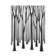 Thin Tree Trunks - 4.25 x 5.75 inches