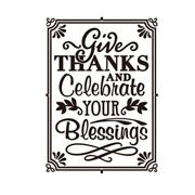 Give Thanks & Celebrate - 4.25 x 5.75 inches