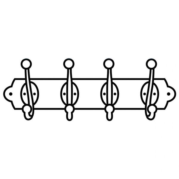 "Coat Rack Embossing Folder (4.25""x5.75"") by Darice"