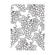 "Grapes Embossing Folder (4.25""x5.75"") by Darice"