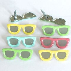 Sun Glasses brads (pastel) by Eyelet Outlet