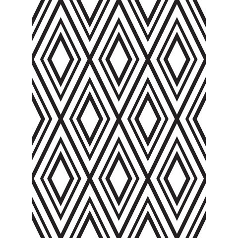 Diamond Background - Darice Embossing Folder - 4.25 x 5.75 inches