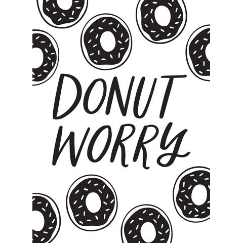 Donut Worry - Darice Embossing Folder - 4.25 x 5.75 inches