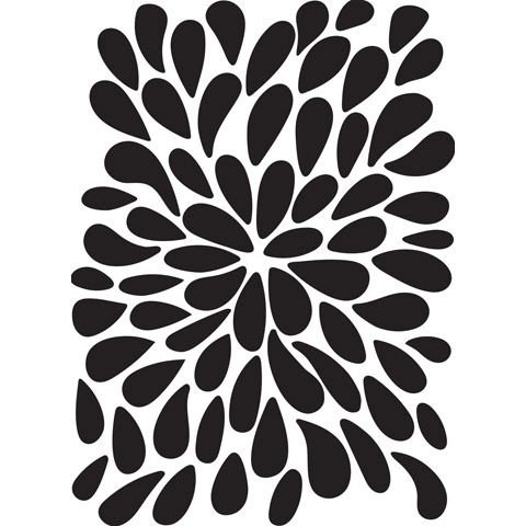 Burst Background - Darice Embossing Folder - 4.25 x 5.75 inches