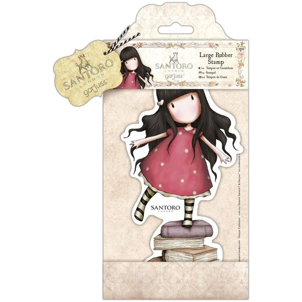 "New Heights Large Gorjuss Stamp by Santoro 4.75""x8.25""(12cm x 21cm)"