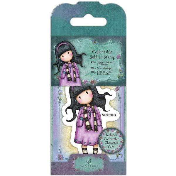 No. 23, Little Song Gorjuss Mini Stamp by Santoro