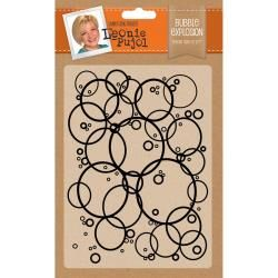 "Bubble Explosion Embossing Folder 5""X7"" by: Leonie Pujol"