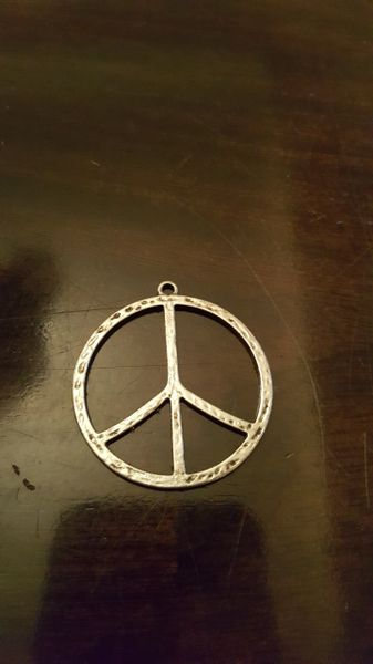 Peace Pendant 40mm (1pc)