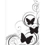 Butterfly Embossing Folder 4.25 x 5.75 by Darice