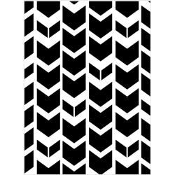 Tribal Chevron Embossing folder 4.25 x 5.75 by Darice