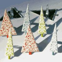 Christmas Tree (damask) by Eyelet Outlet