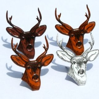 Deer Head Brads by Eyelet Outlet