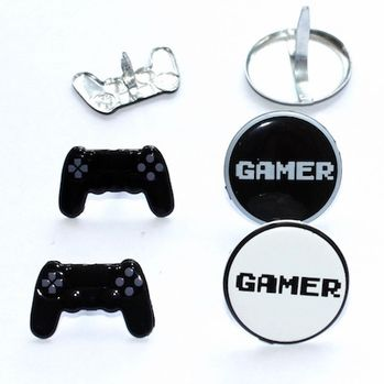 Video Game Brads by Eyelet Outlet