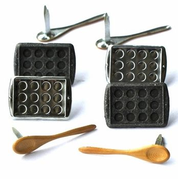 Baking Brads (Wooden Spoon, Cupcake/muffin pan) by Eyelet Outlet