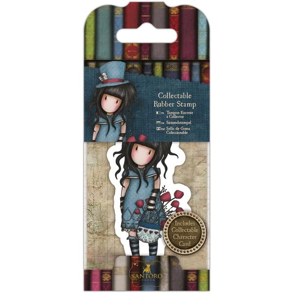 No. 29, The Hatter Gorjuss Mini Stamp by Santoro