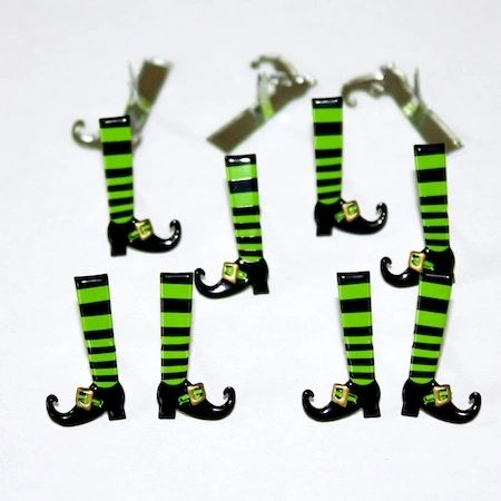 Witch legs (12pcs) by Eyelet Outlet