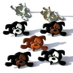 Hanging Dog brads by Eyelet Outlet