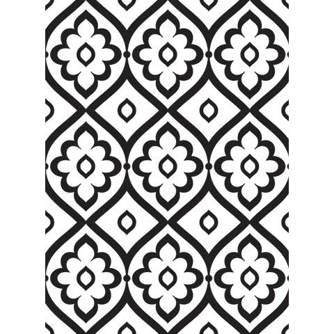 "Patterned Background Embossing Folder (4.24""x5.75"") by Darice"