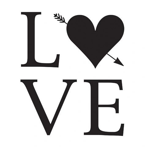 "Love Embossing Folder (4.24""x5.75"") by Darice"