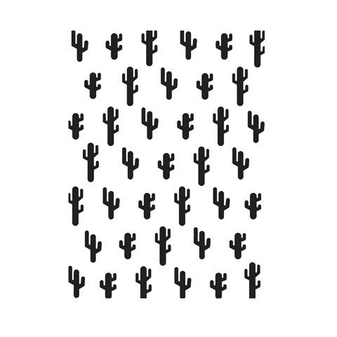 "Cactus Background Embossing Folder (4.24""x5.75"") by Darice"
