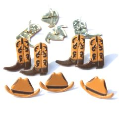 Cowboy brads by Eyelet Outlet