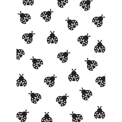 "Ladybug Background Embossing Folder (4.24""x5.75"") by Darice"