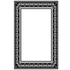 """Ornate Frame Embossing folder (4""""x6"""") by Darice"""
