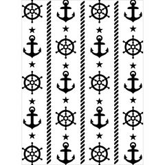 """Anchor and Ship's Wheel Background (4""""x6"""") by Darice"""