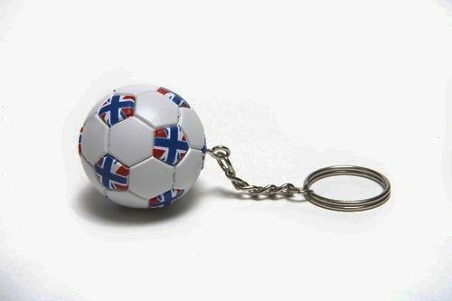 UNITED KINGDOM COUNTRY FLAG FIFA SOCCER WORLD CUP BALL KEYCHAIN .. NEW AND IN A PACKAGE