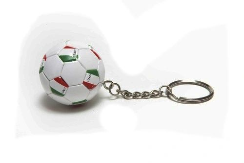 ITALY COUNTRY FLAG FIFA SOCCER WORLD CUP BALL KEYCHAIN .. NEW AND IN A PACKAGE