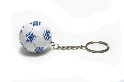 GREECE COUNTRY FLAG FIFA SOCCER WORLD CUP BALL KEYCHAIN .. NEW AND IN A PACKAGE