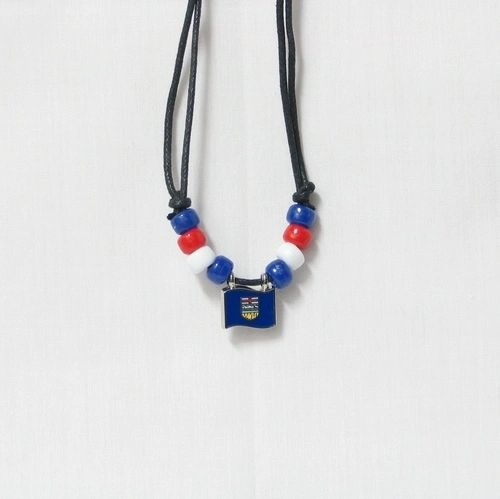 ALBERTA CANADA PROVINCIAL FLAG SMALL METAL NECKLACE CHOKER .. NEW AND IN A PACKAGE