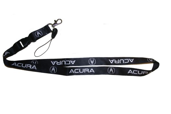 "ACURA CAR MODEL LOGO LANYARD KEYCHAIN PASSHOLDER NECKSTRAP .. CLASP AT THE END .. 20"" INCHES LONG .. HIGH QUALITY .. NEW"